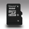 16GB KINGSTON MICRO SD HC SDC4/16GBSP